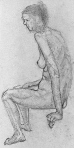 Long-Term Study, from life drawing on Visual HF