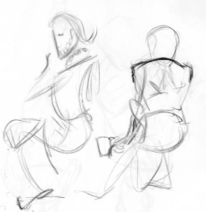 Chosen Gesture Drawing