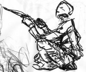Chosen Gesture Drawing